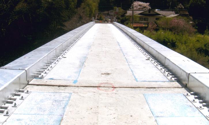 小枝深水線(境田橋)単県橋梁補修工事