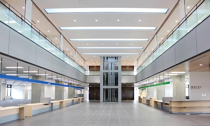 玉名市新庁舎